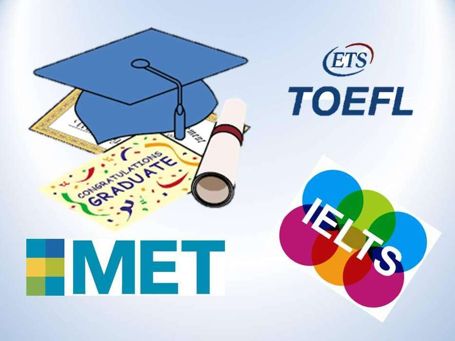 TOEFL, IELTS, MET, PET, ITEP, TOEIC CLASSES