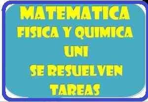 Matematicas Quimica y Fisica para Colegio / Superior /Pre/ Univ