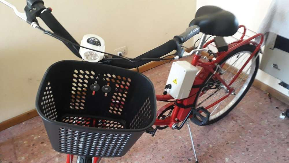 Bicicleta Electrica Rodado 26 NUEVA, bateria de litio y cargador