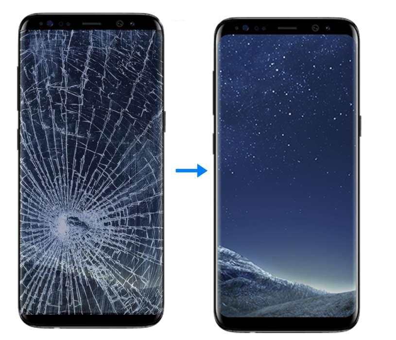 Visor Display Samsung S9 Plus Instalado en laboratorio Procedimiento en vivo