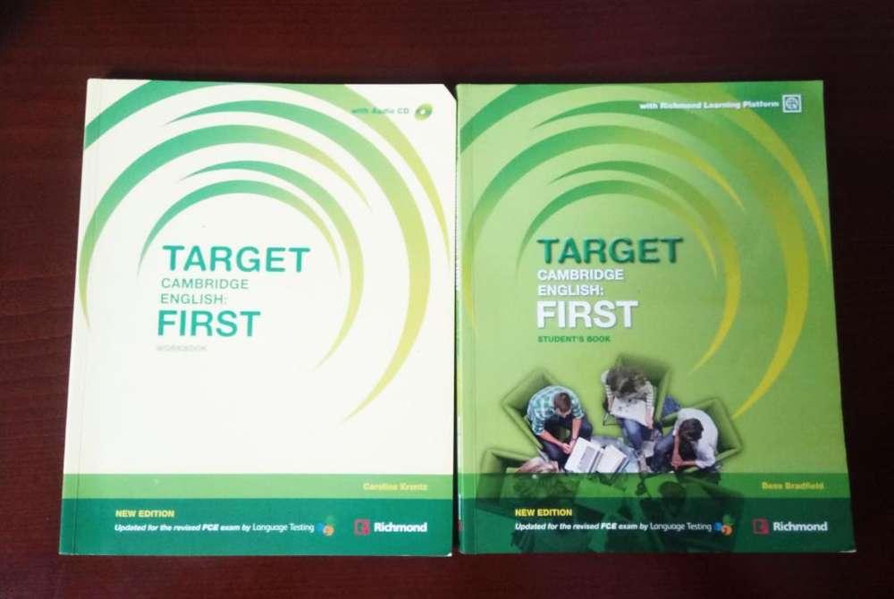 Libros Target Cambridge Inglés