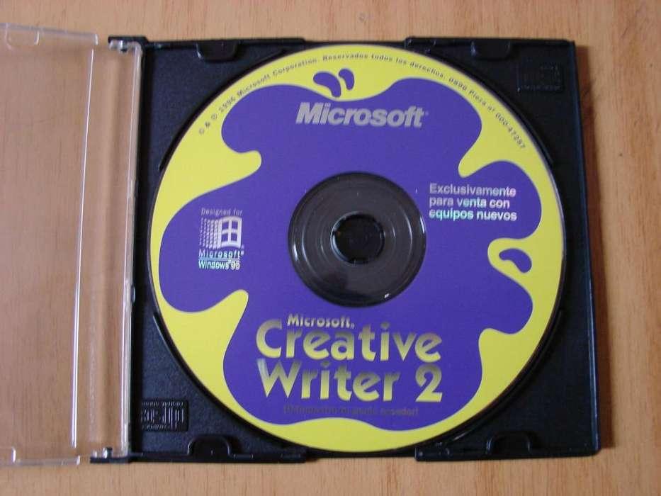 Creative Writer Fine Artist Microsoft Original Usado