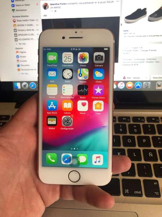 Ganga iPhone 7 32Gb Rosado Libre Legal