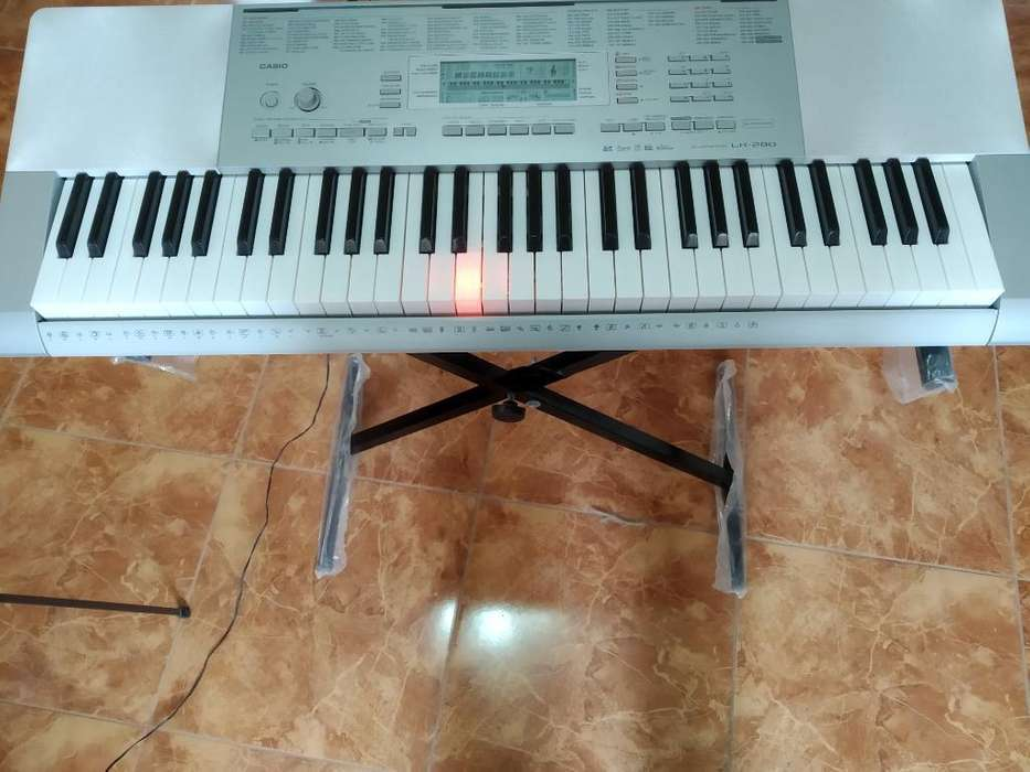 Casino Lk-280 Piano Órgano Midi Led