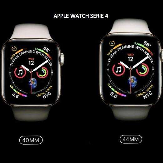 Apple Watch, Series 4.. NUEVOS Tamaños, display más grande 40 y 44mm. iPhone 8 Plus XS Max. iWatch S4. Relojes