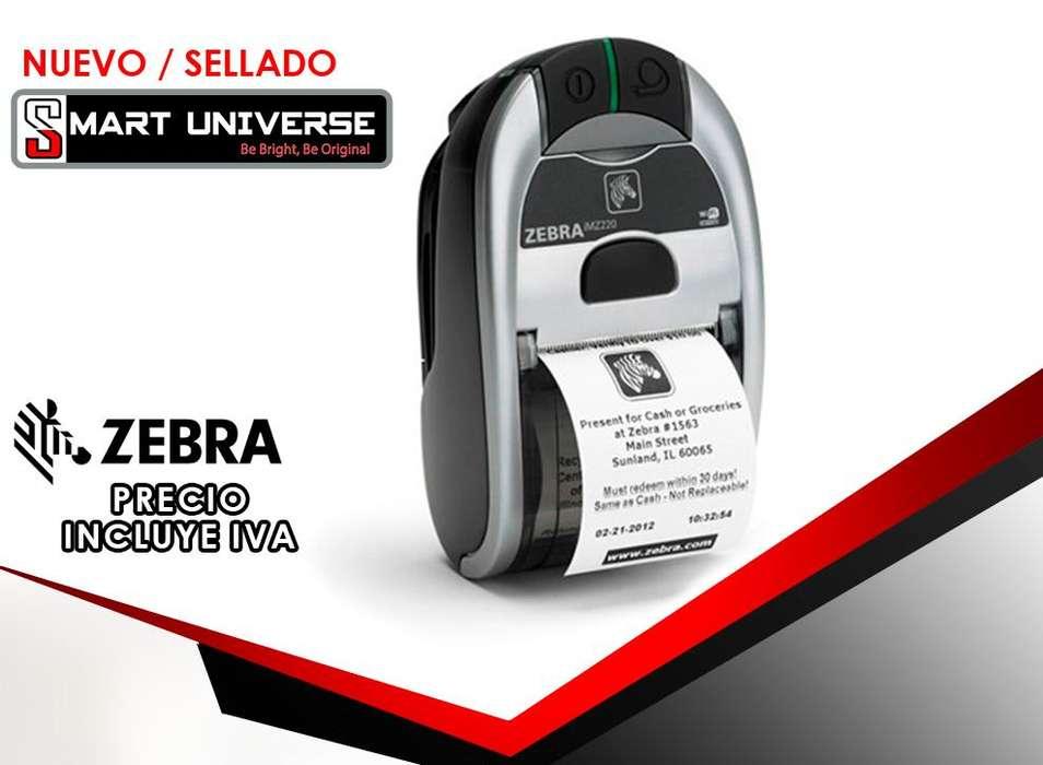 <strong>impresora</strong> Portatil Zebra Imz220 Bluetooth