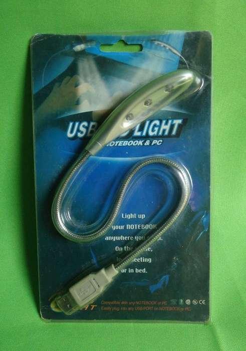 Mini lampara led para portatil