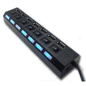 Hub USB 3.0 7 Puertos INT.CO KQ020H Cod.2572