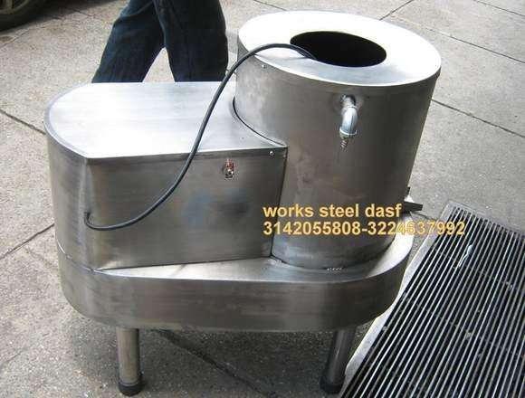 PELADORA LAVADORA DE PAPA- centrifuga marmita tostadora despulpadora desplumadora empacadora molino