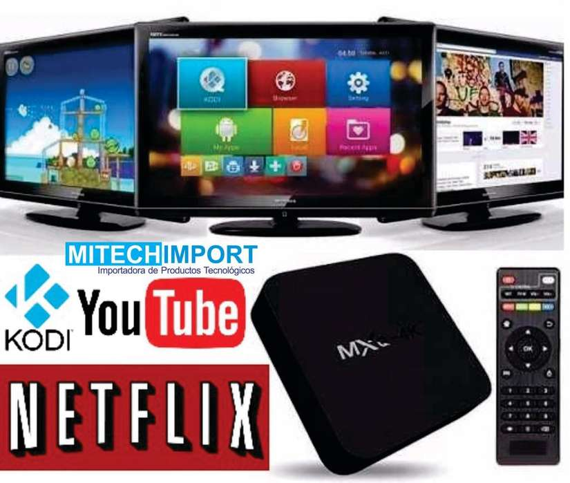 Tv Box Android 2GB 7.1 convierte en Smart TV