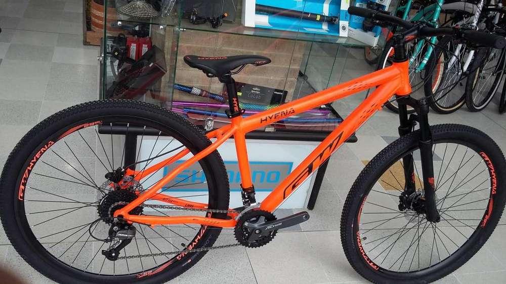 vendo bicicleta Gw 3x9 velocidades nueva varios colores y tallas