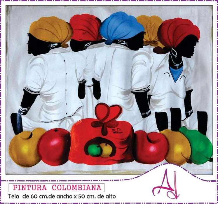 PINTURA COLOMBIANA-TELA-PROMO
