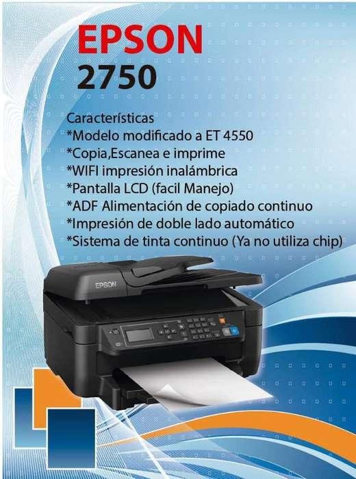 <strong>impresoras</strong> Epson Tinta Continua