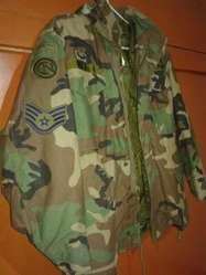 el más nuevo ae3bd df74a Casaca Militar Army Us Ejercito Airsoft Parka MADE IN USA - Ica