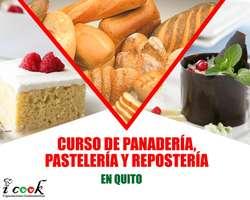 CURSO DE PANADERÍA PASTELERÍA Y REPOSTERÍA 100% PRÁCTICO CONVIÉRTETE EN PANADERO EN SÓLO 3 MESES