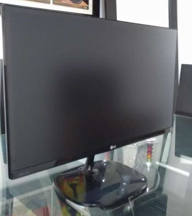 Monitor Lg 24 Pul, Ips 1080, Full Hd