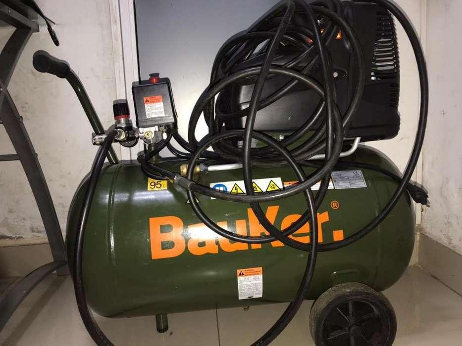 Vendo Compressor Bauker. Poco Uso