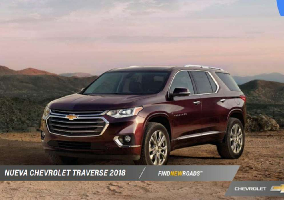 Chevrolet Traverse 2020 - 0 km