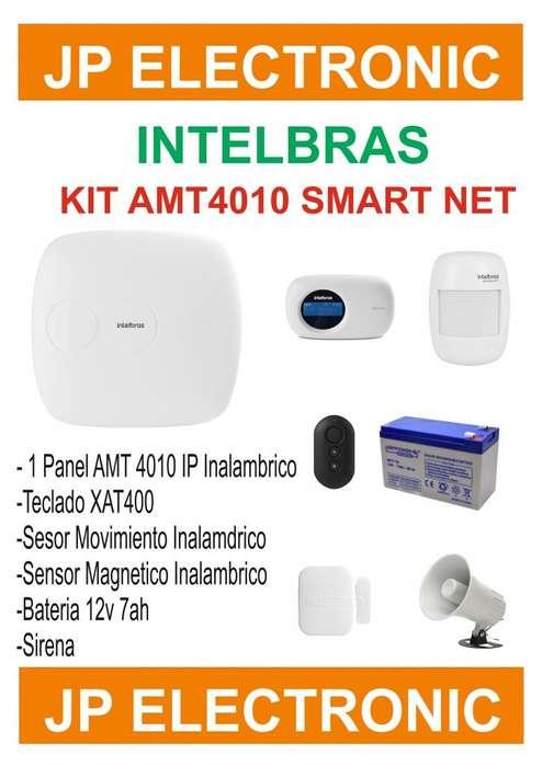 Alarma Intelbras Amt4010 Smart Net Ip Inalambrica