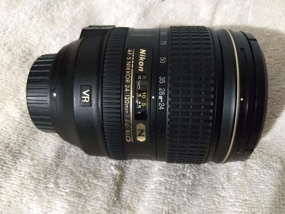 Lente Nikon 24-120mm Vr Nano Cristal