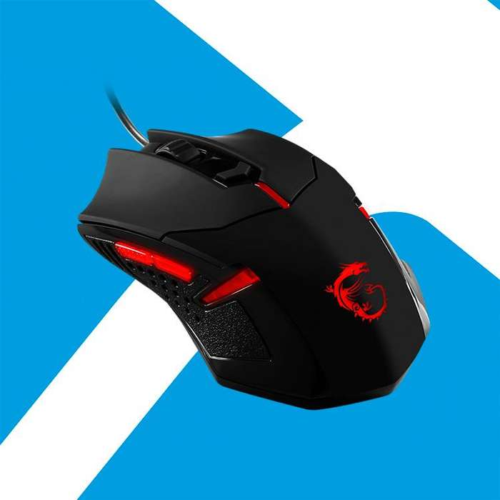 Acp - Mouse Gaming Msi Ds B1 1600dpi