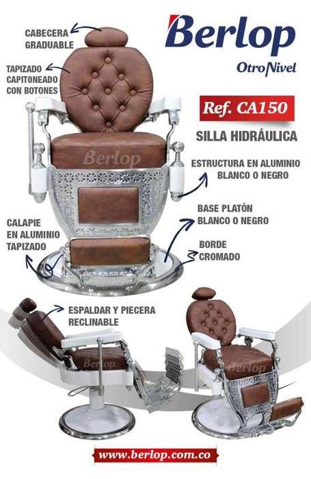 <strong>silla</strong> de barbería Antigua Ref. CA150