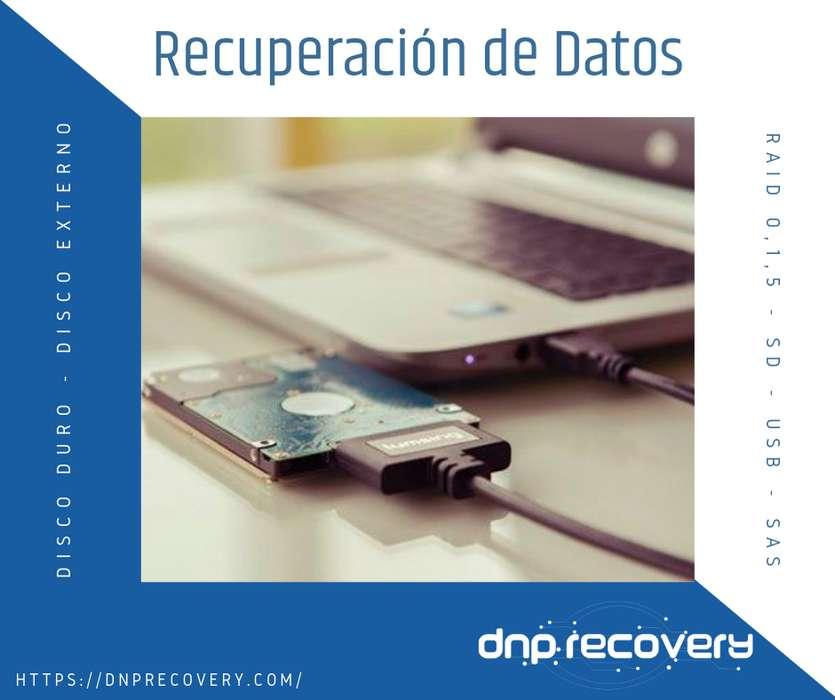 DNP Recovery Recuperación de Datos Disco Duro