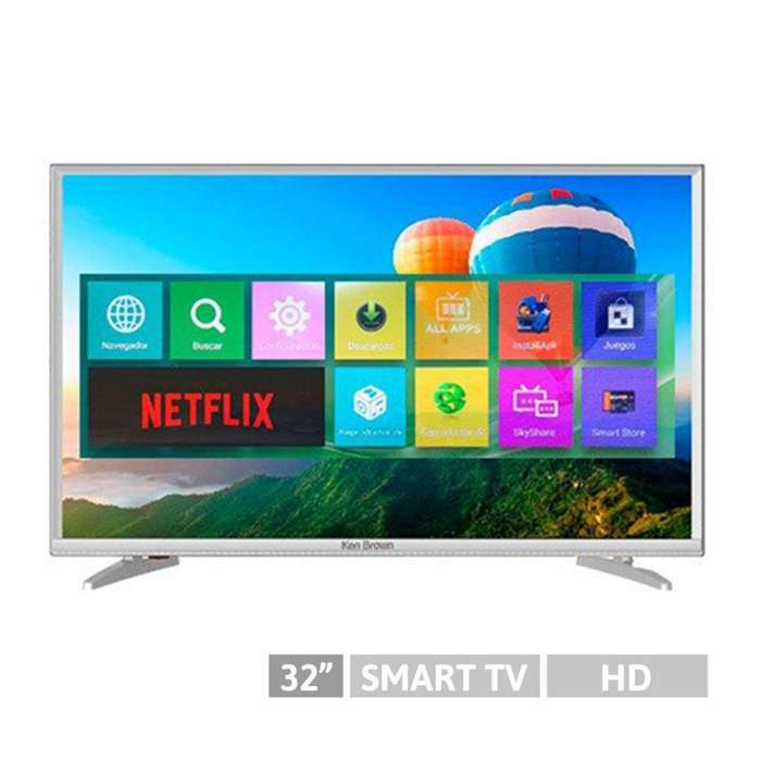 Smart tv Led Ken Brown 32 pulgadas kb32s2000sa Netflix Wi Fi