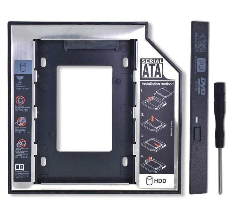Caddy Plástico Aluminio Universal Optiba