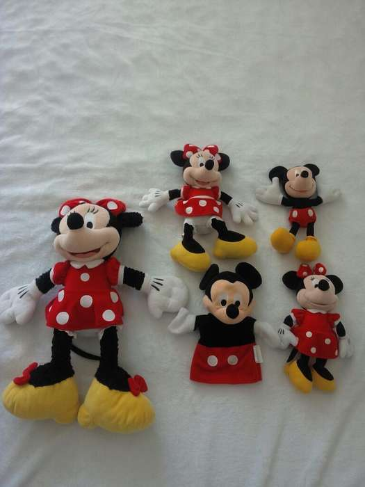 Coleccion Minni Y Mickey