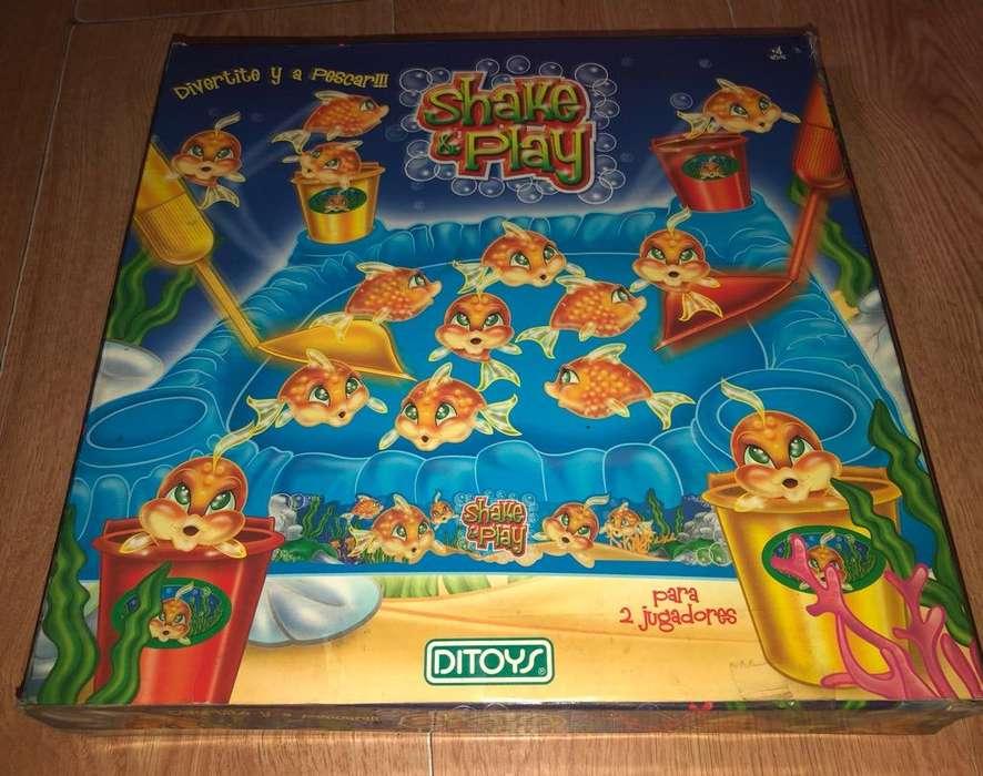 ¡Shake Y Play! Juego para Pescar Peces