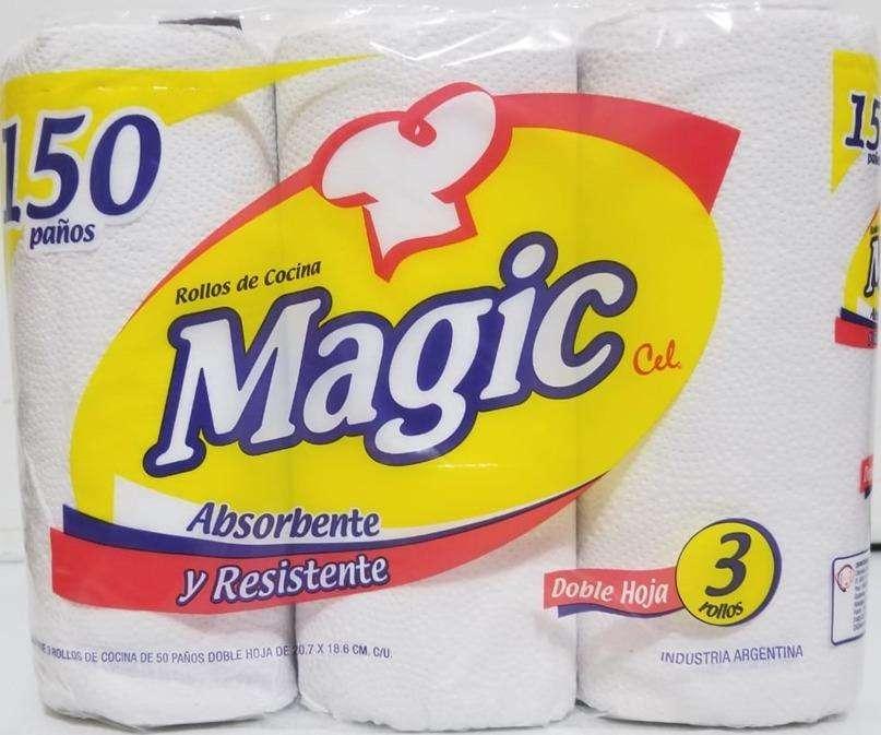 Bolsón de 8 paquetes de rollos de cocina MAGIC