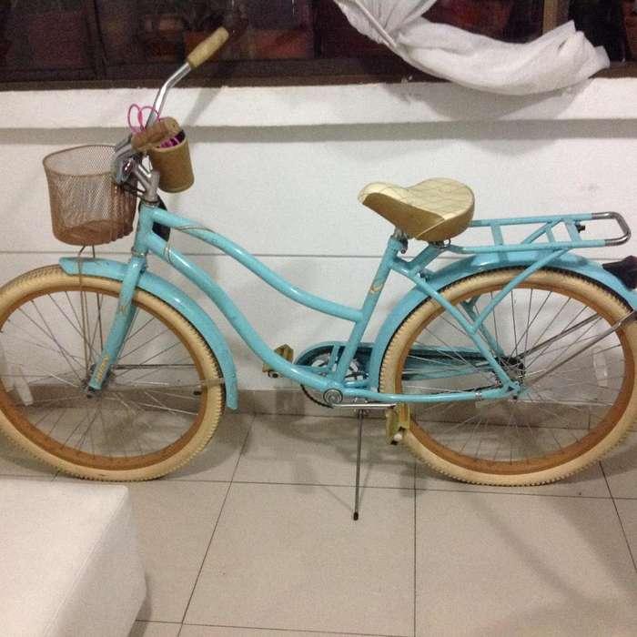 Venta de bicicleta para mujer marca Nel Lusso Huffy 26