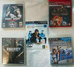Consola Ps3play Station 3, Camara, 2 Joysticks, 14 Juegos
