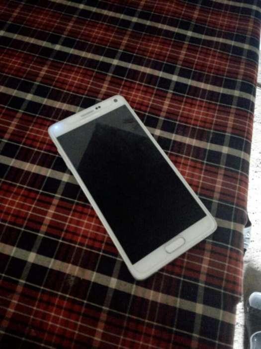 Samsung Note 4 con Caja Y Accesorios