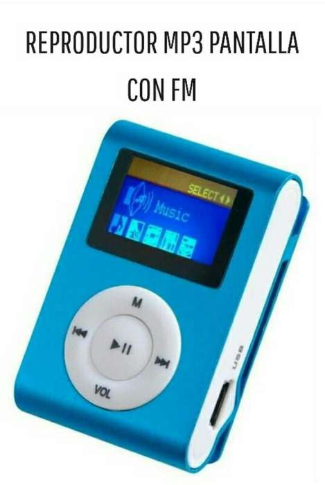 Reproductor Mp3 con Pantalla
