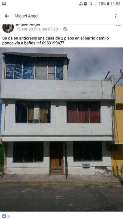 Casa en venta en riobamba