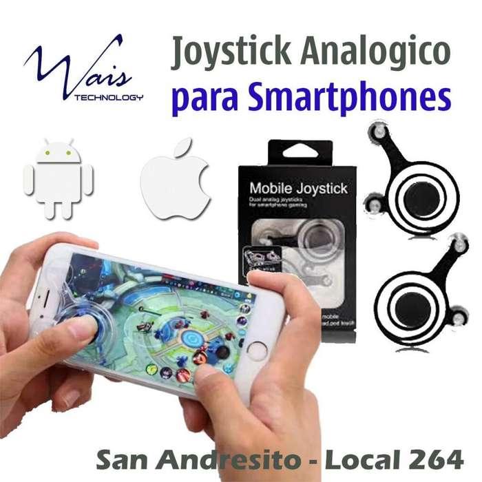 Joystick doble 2 Gatillos (analógicos) para Smartphones y Tablets