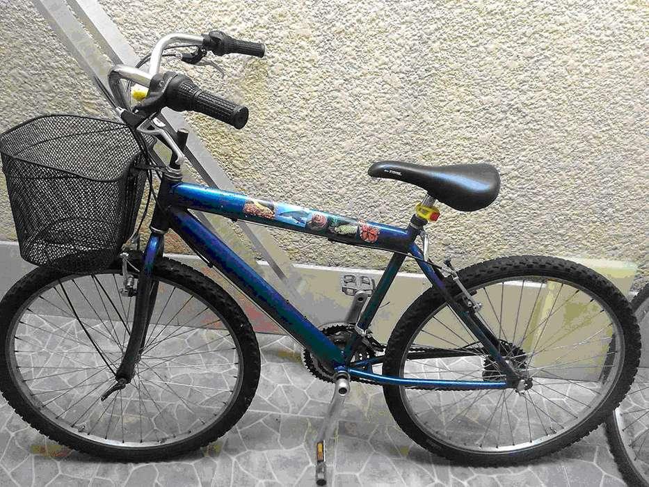bicicleta de cambios rin 26