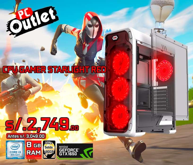 CPU GAMER Intel i3-8100 3.60GHz gtx 1650 4gb ddr5