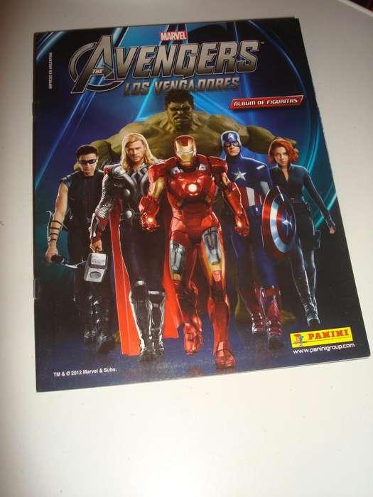 Figuritas Avengers Panini 2012 solo venta