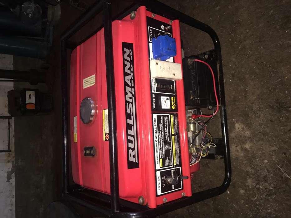 Grupo electrógeno rullsmann de 6500w