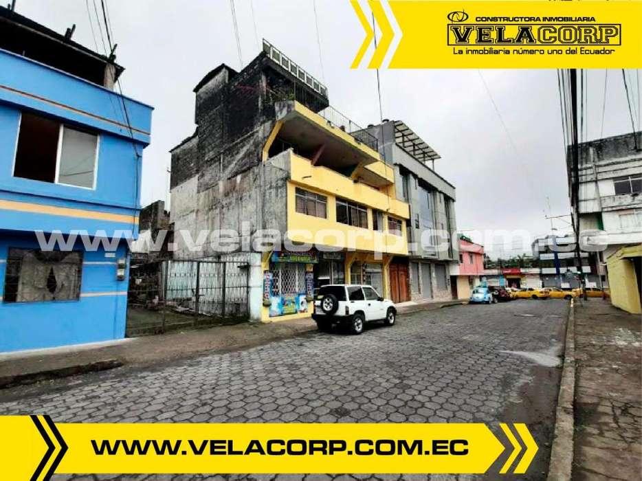 VENDO <strong>edificio</strong> COMERCIAL Y RENTERO EN AV. TSÁCHILA