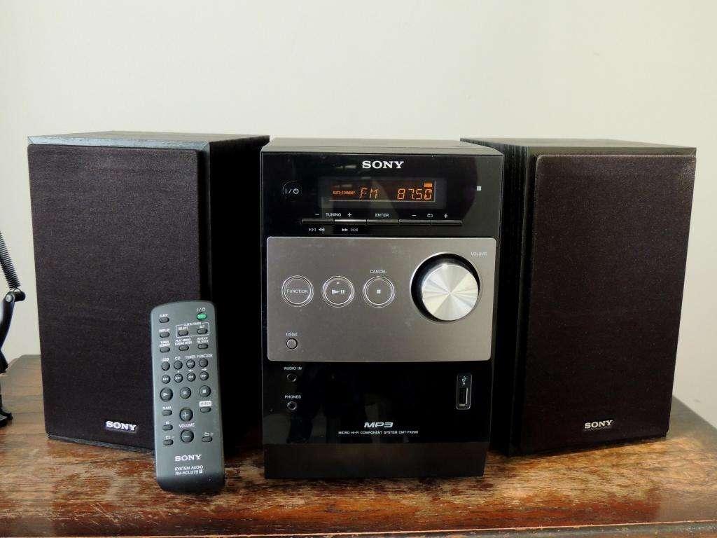 Mini Componente Sony / CMT-FX200