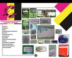 Diseño Grafico, Avisos, Placas