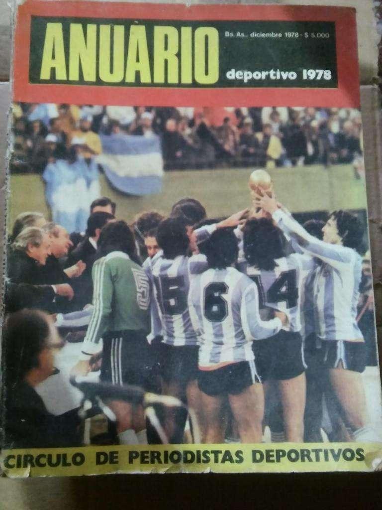 Anuario 1978 del Circulo de Periodistas Deportivos, usado en buen estado.