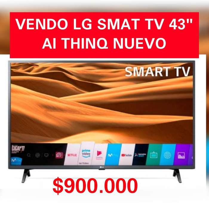 Smart Tv Lg 43pulgadss