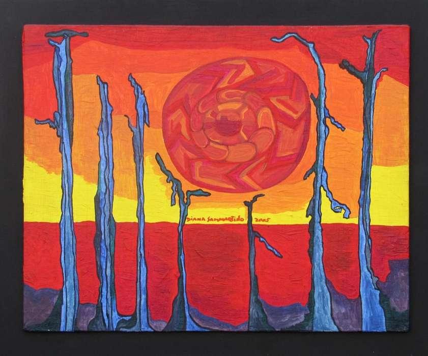 LuminosidadCuadro original de Diana Sammartino Acrílico