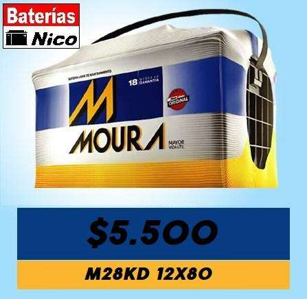 BATERIA MOURA 12X80 M28KD (OFERTA)