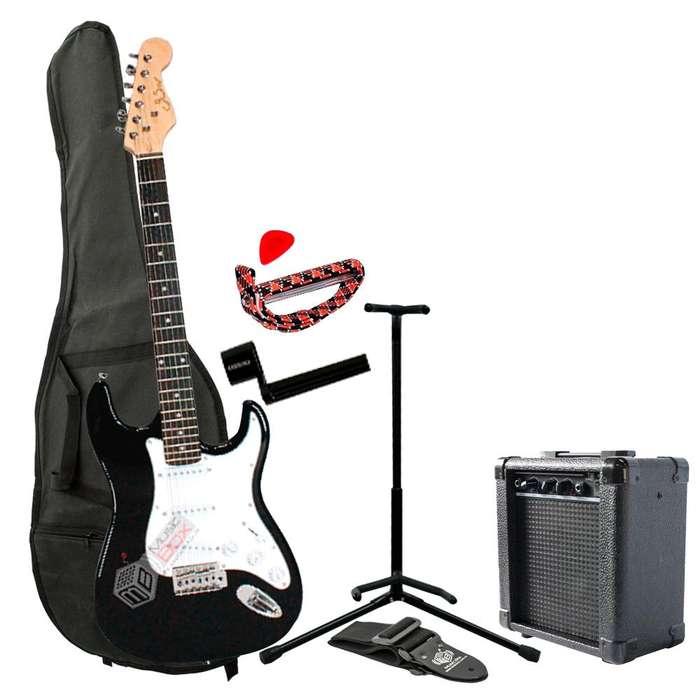 Combo Gsw FI <strong>guitarra</strong> electrica Amplificador Negro MusicBoxColombia ¡Hasta -30% Dto en productos seleccionados!